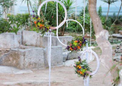 Wedding flowerrings
