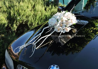 Wedding car Orchids