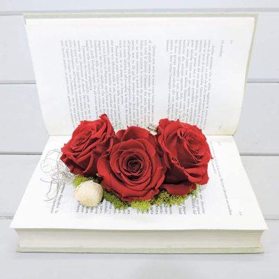 forever roses σε βιβλιο παντοτινα τριανταφυλλα